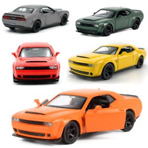 1:36 Dodge Challenger SRT Demon Sports Car Vehicle Pull Back Model Diecast Toy