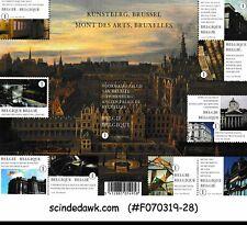 BELGIUM - 2009 MONTS DES ARTS SG#MS4276 - MIN. SHEET MNH