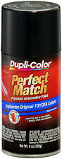 Dupli-Color BTY1622 Black Sand Pearl Toyota Auto Paint 8oz