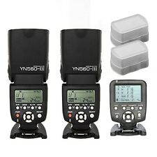 Yongnuo YN560-TX Wireless Controller for Nikon + 2 pcs YN-560III Flash speedlite