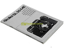 Guida utente Rollei SL35ME. Manuale. Italiano English Deutsche Francais Espanol