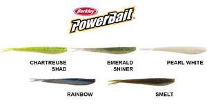 """Berkley Powerbait MINNOW - 2"""" 5cm 3"""" 7.5cm - 4""""10cm - All Colours"""
