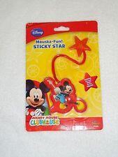 NEW DISNEY MICKEY MOUSE CLUBHOUSE MOUSKA-FUN STICKY STAR