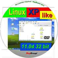 Xplike 11,04 - Win Xp parecida a Linux sistema operativo, disponible como 32 Bit Live Dvd