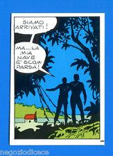 TARZAN DELLE SCIMMIE - Cenisio 1973 - Figurina-Sticker n. 100 -New