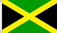 5' x 3' Jamaica Flag Jamaican National Flags Caribbean Banner
