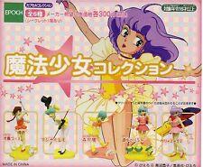 RARE GASHAPON MAGICAL GIRL CREAMY MAMI the Magic Angel girl FANCY LALA 5 FIGURE