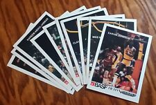 1982-83 BASF Los Angeles Lakers Complete 13 Card Set Jabbar Magic Worthy NR-MT