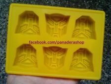 Transformers Autobot Ice Jelly Chocolate Fondant Soap Clay Silicone Mold Molder