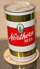 1972 BOTTOM OPEN NORTHERN STRAIGHT STEEL PULL TAB BEER CAN COLD SPRING MN