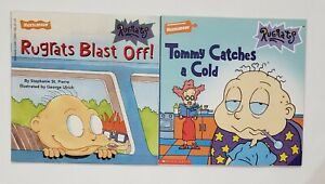 Lot Of 2 Nickelodeon Rugrats Paperback Books