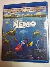 Finding Nemo Brand New (Blu-ray 2D/3D, Dvd, Includes Digital Copy)