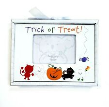 """New listing Koala Baby """"Trick Or Treat"""" Halloween Photo Frame Holds 3.5""""x5"""" Picture Pumpkin"""