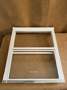 Kenmore Refrigerator glass shelf slide out spill proof AHT73234029 Elite in