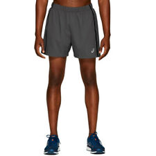"""Asics Mens Running Exercise Fitness Training 5"""" Short Race Dark Grey"""