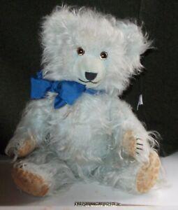 RARE ANTIQUE BLUE JOPI TEDDY BEAR 15 INCHES CIRCA 1930 WITH GROWL