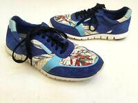 Cole Haan Womens Blue Zerogrand Classic Trainer Sneaker W01947 Floral Sz 9 (b08)