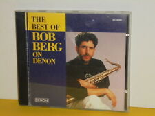 CD - BOB BERG - THE BEST OF BOB BERG ON DENNON