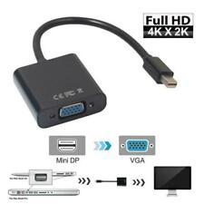 Thunderbolt Mini Display Port DP to VGA Cable Adapter For APPLE Macbook iMac UK