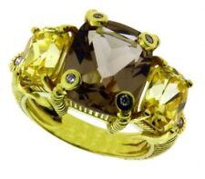 Anelli con diamanti naturale ovale in oro giallo