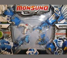 Monsuno Combat 4-Pack: LOCK/LONGFANG/WHIPPED/AIRSWITCH +4 CORE 12 CARDS NEW