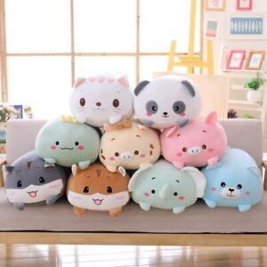 Cute Cartoon CAT Stuffed PILLOW Animal Plush Soft Kids Toy Home Decor FREE Shipp