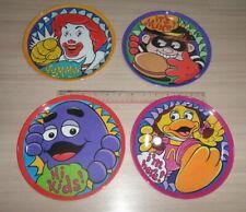 4 McDoanld Character Ronald Birdie Grimace Hamburglar Melamine Plate Thailand