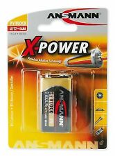 ANSMANN 6lf22 X-power 9 V Block E Alkaline Battery