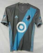 Minnesota United FC Men's Size Small Adidas Adizero Jersey Gray A1 293