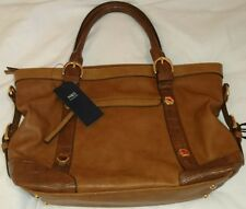 M & S Croc Mix Slouchy Crossbody Handbag Tan Flux Leather Bnwt