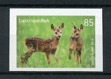 Germany 2018 MNH Baby Animals Deer 1v S/A Set Wild Animals Stamps