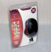2,4Ghz Schnurlose PC Funk Maus Maus Schnurlos Notebook Lapop 10m Schwarz (Black)