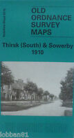 Old Ordnance Survey Maps Thirsk (South) & Sowerby Yorkshire 1910 Godfrey Edition
