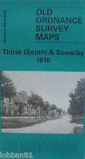 Old Ordnance Survey Map Thirsk (South) & Sowerby near York 1910  S 87.15 New Map