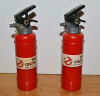 """Vintage GHOSTBUSTERS Fire Extinguisher Squirt Toys 1986 4.5"""" Tall 80s Toys"""