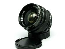 RARE Black Grand Prix Brussels 1958 Mir-1 f/2.8 37mm M42 lens wide-angle MY93