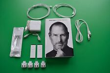 Apple Power accessories - remotes, cables, AC adapter and Steve Jobs Book bundle