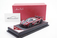 #AS027-112 - FrontiArt Koenigsegg Agera RS - Burgundy Red - 1:43