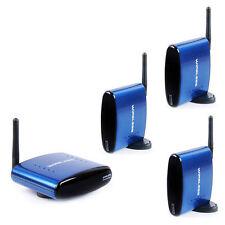 PAT-630 5.8GHZ 200m AV Wireless Transmitter 3 Receivers Sender Audio Video US