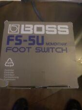 BOSS FS-5L Fußschalter Foot switch Musik Music Sound Voice Equipment Schalter