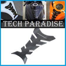 Protection Sticker Réservoir Moto Bike tank pad panel gel imitation Carbone *PG*