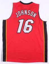 James Johnson Signed Miami Heat Jersey (JSA COA) 2009 1st Round Pick NBA Draft