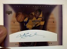 2003/04 Kobe Bryant UD Hardcourt Clear Commemoratives auto KB-A