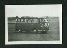 Vintage Car Photo 1960s VW Volkswagen Micro Bus 417157