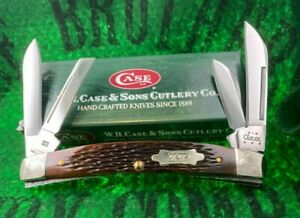 case xx 6488 large congress knife 2004 boysen berry bone scrolled unused sweet