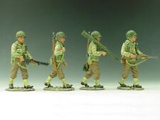 KING & COUNTRY D DAY DD043 U.S. 3RD INFANTRY DIVISION PATROL MIB