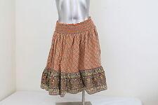 Women's American Rag Orange & Brown Skirt Size Small