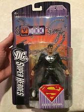 """DCUC DC Super Heroes Black Suit Superman 6"""" Figure NEW"""
