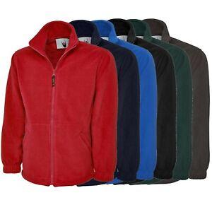 Fleecejacke Arbeitsjacke Pullover Damen Herren 300 g/m² Gr. XS bis XXL
