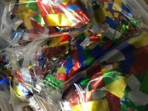 Confetti MULTI Mylar per pound flameproof confetti rectangular Metallic confetti